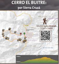 Cerro El Buitre: por Sierra Cruzá