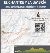 El Chantre y la Umbría: Subida por la Higueruela y bajada por el Retamar