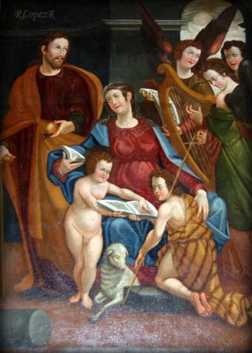 Cuadro de la Sagrada Familia S XVI