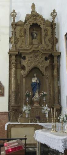 Retablo de la Inmaculada
