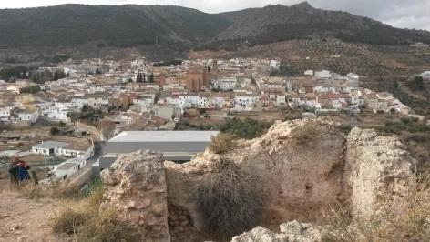 panoramica ruinas castillo
